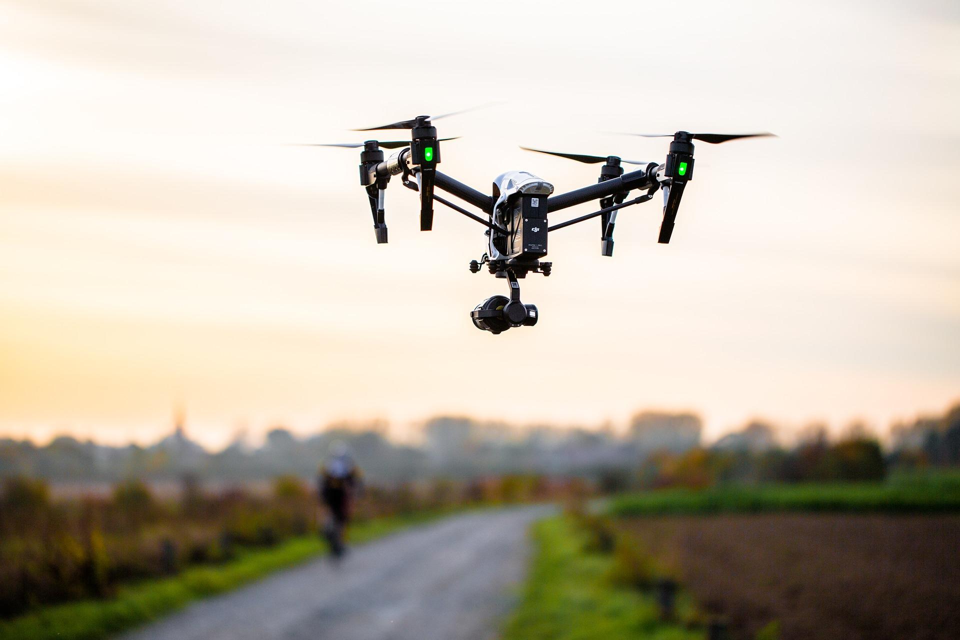 Wir erstellen mit unseren Drohnen hochauflösende Luftaufnahmen.